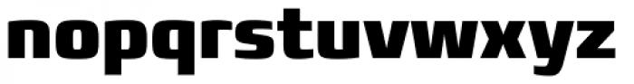 Francker Paneuropean W1G Condensed Black Font LOWERCASE