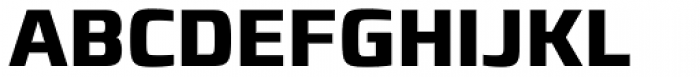 Francker Paneuropean W1G Condensed Bold Font UPPERCASE