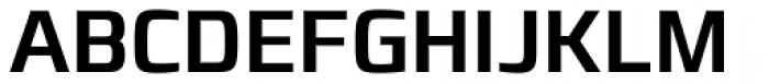 Francker Paneuropean W1G Condensed Medium Font UPPERCASE