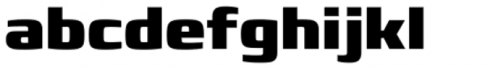 Francker Pro Black Font LOWERCASE