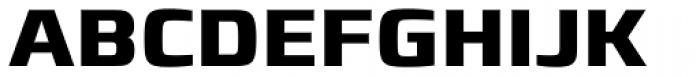 Francker Pro Bold Font UPPERCASE