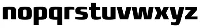 Francker Pro Condensed ExtraBold Font LOWERCASE