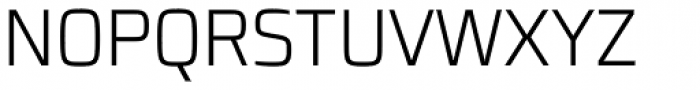 Francker Pro Condensed ExtraLight Font UPPERCASE
