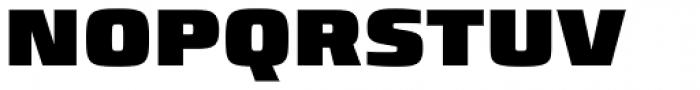 Francker Pro ExtraBlack Font UPPERCASE
