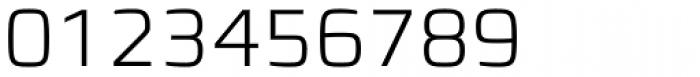 Francker Pro ExtraLight Font OTHER CHARS