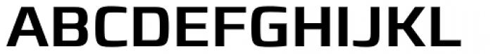 Francker Pro Medium Font UPPERCASE