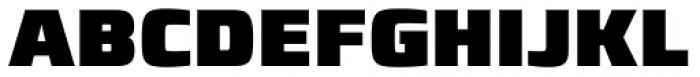 Francker Std Condensed ExtraBlack Font UPPERCASE