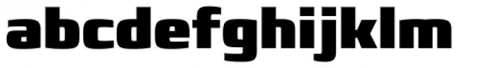 Francker Std Condensed ExtraBlack Font LOWERCASE