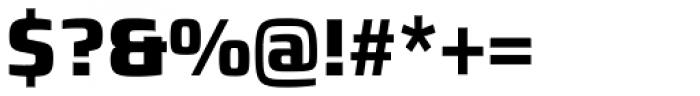 Francker Std Condensed ExtraBold Font OTHER CHARS