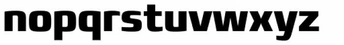 Francker Std Condensed ExtraBold Font LOWERCASE