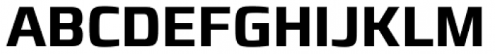 Francker Std Condensed SemiBold Font UPPERCASE