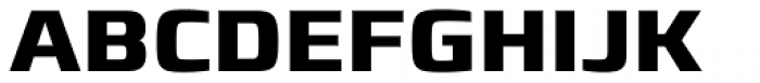 Francker Std Cyrillic Bold Font UPPERCASE
