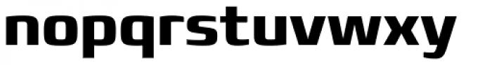 Francker Std Cyrillic Bold Font LOWERCASE