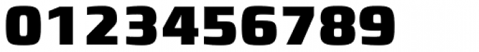Francker Std Cyrillic Condensed Black Font OTHER CHARS