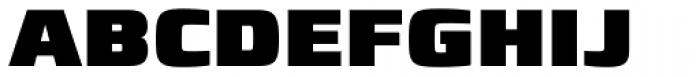 Francker Std Cyrillic ExtraBlack Font UPPERCASE