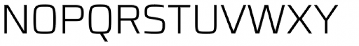 Francker Std Cyrillic ExtraLight Font UPPERCASE