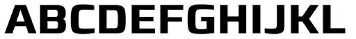 Francker Std Cyrillic SemiBold Font UPPERCASE
