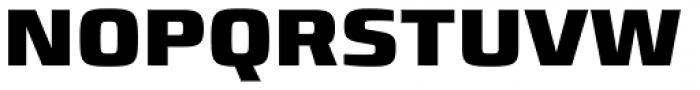Francker Std ExtraBold Font UPPERCASE