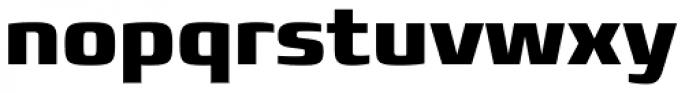 Francker Std ExtraBold Font LOWERCASE
