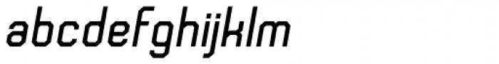 Frangle Bold Italic Font LOWERCASE