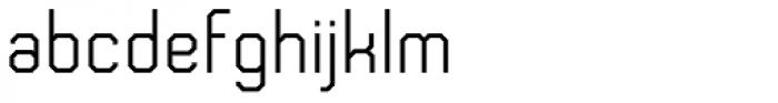 Frangle Font LOWERCASE