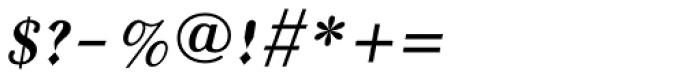 Frank Ruhl MF Italic Font OTHER CHARS