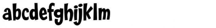 Franken Jr AOE Pro Font LOWERCASE