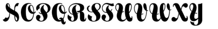 Frankenberg Pro Font UPPERCASE