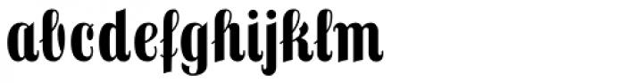Frankenberg Pro Font LOWERCASE