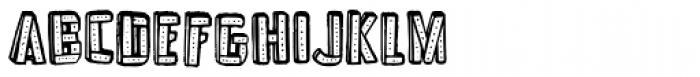 Frankenstein Regular Font LOWERCASE