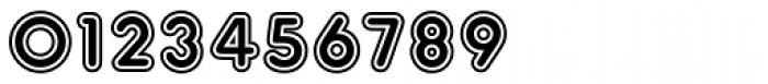 Frankfurter Inline Font OTHER CHARS