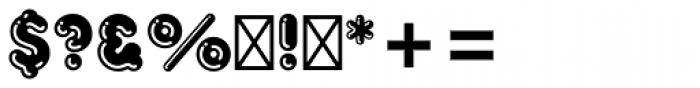 Frankfurter Std Highlight Font OTHER CHARS