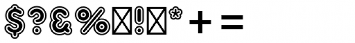 Frankfurter Std Inline Font OTHER CHARS