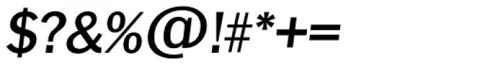 Franklin Goth TS Medium Italic Font OTHER CHARS