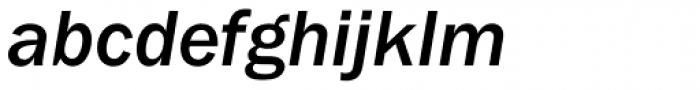 Franklin Gothic Medium Italic Font LOWERCASE