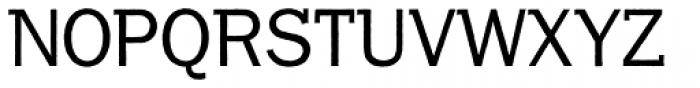 Franklin Gothic Raw Semi Serif Book Font UPPERCASE