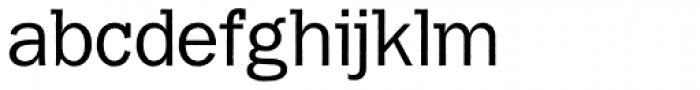 Franklin Gothic Raw Semi Serif Book Font LOWERCASE