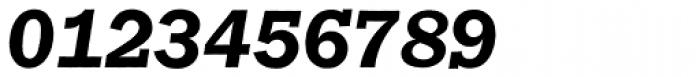 Franklin Gothic Raw Semi Serif Demi Oblique Font OTHER CHARS