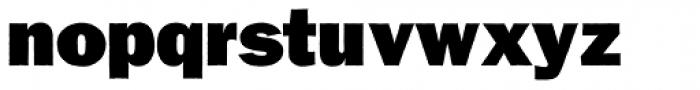 Franklin Gothic Raw Ultra Font LOWERCASE