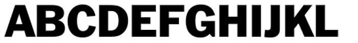 Franklin Gothic Font UPPERCASE