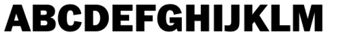 Franklin Pro Black Font UPPERCASE