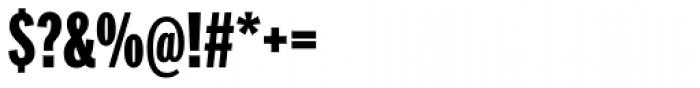 Franklin Pro Compressed Black Font OTHER CHARS