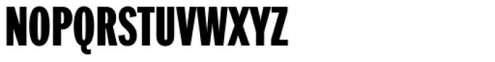 Franklin Pro Compressed Black Font UPPERCASE