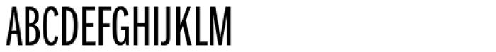Franklin Pro Compressed Light Font UPPERCASE