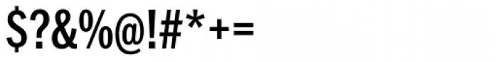 Franklin Pro Condensed Medium Font OTHER CHARS