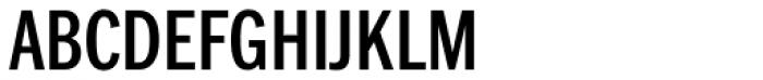 Franklin Pro Condensed Medium Font UPPERCASE