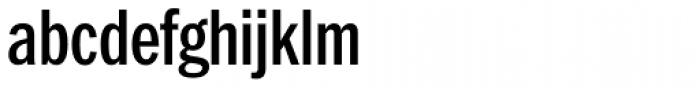 Franklin Pro Condensed Medium Font LOWERCASE