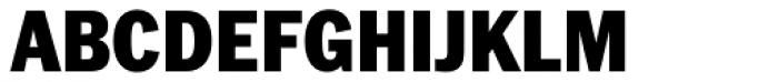 Franklin Pro Narrow Black Font UPPERCASE