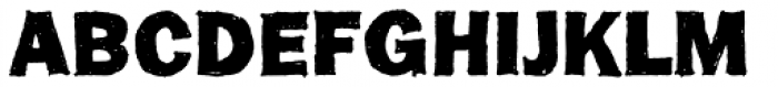 FranklinGothicHandBold Font UPPERCASE