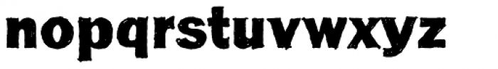 FranklinGothicHandBold Font LOWERCASE